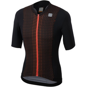 Sportful R&D Celsius Jersey Herren black/orange sdr